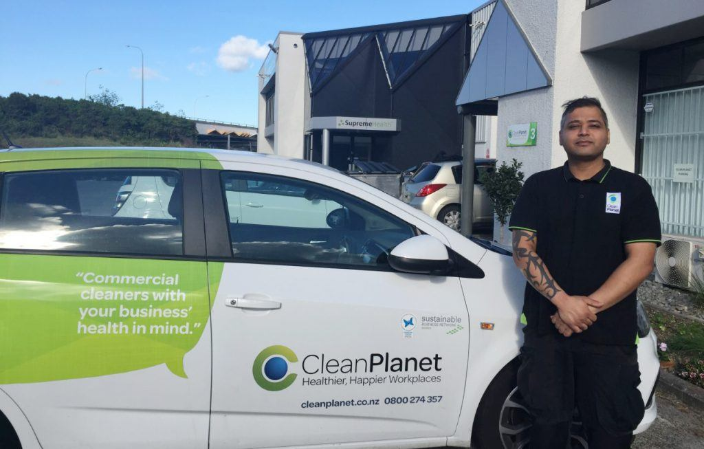 Franchisee Award - Clean Planet