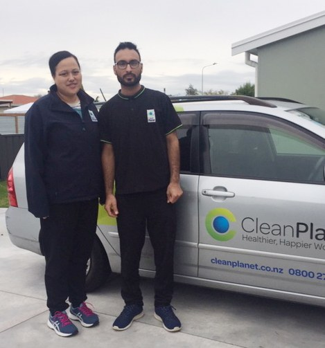 Hawkes Bay - Franchisee of the month Award - Clean Planet