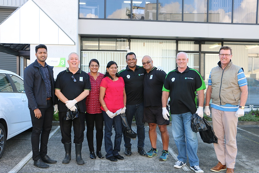 Rubbish collection - Team Clean Planet