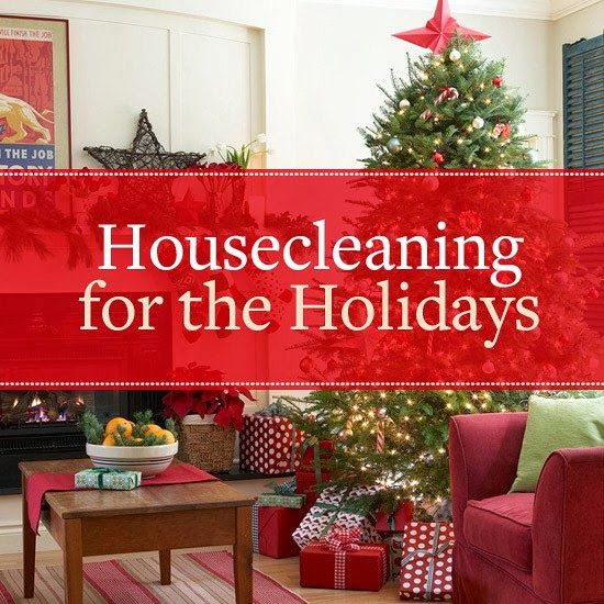 Christmas cleaning service